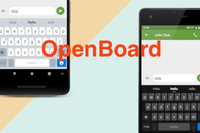 OpenBoard 770x513 - OpenBoard - Clavier ultime pour Android
