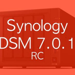 Synology DSM 7.0.1 rc