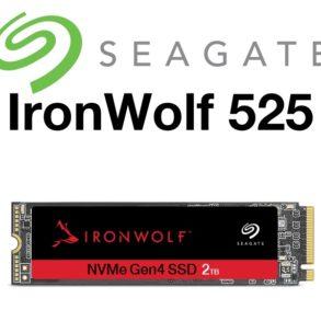 inronwolf 525 293x293 - Seagate IronWolf 525 : SSD NVMe pour les NAS