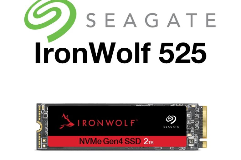 inronwolf 525 770x513 - Seagate IronWolf 525 : SSD NVMe pour les NAS