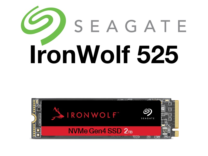 inronwolf 525 - Seagate IronWolf 525 : SSD NVMe pour les NAS