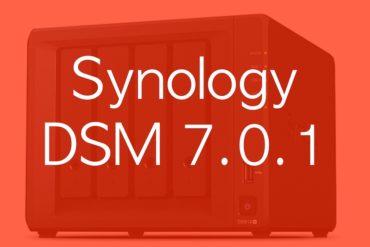 Synology DSM 7.0.1
