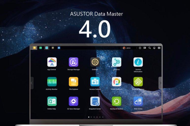 Asustor ADM 4 770x513 - Asustor ADM 4.0 : Nouvelles fonctionnalités, comment l'installer et quels NAS supportés