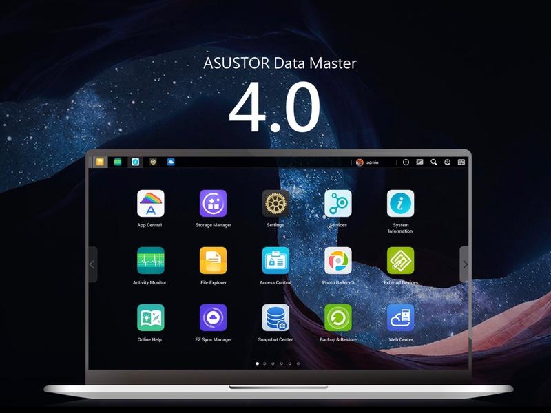 Asustor ADM 4 - Asustor ADM 4.0 : Nouvelles fonctionnalités, comment l'installer et quels NAS supportés