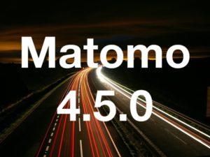 Matomo 4.5.0