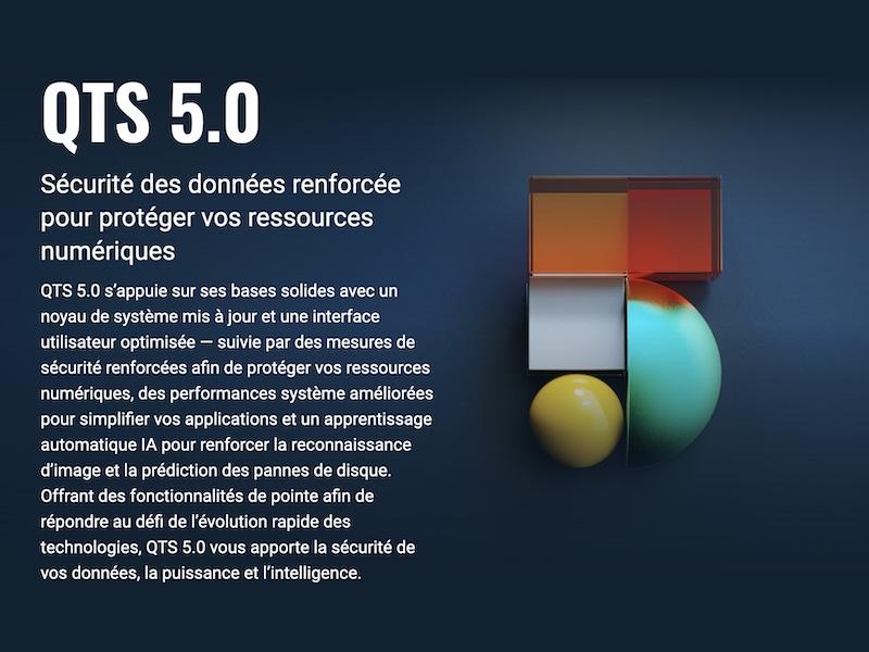 QNAP QTS 5.0 - QNAP QTS 5.0 est disponible : Nouvelles fonctionnalités, comment l'installer et quels NAS compatibles