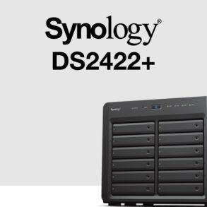 Synology DS2422 293x293 - Synology DS2422+ : AMD Ryzen, 4 Go de RAM, réseau 1 Gb/s, PCIe Gen 3.0...