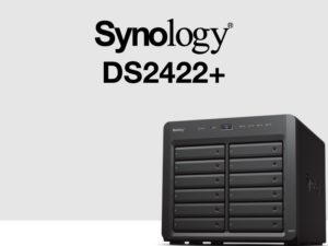 Synology DS2422 300x225 - Synology DS2422+ : AMD Ryzen, 4 Go de RAM, réseau 1 Gb/s, PCIe Gen 3.0...