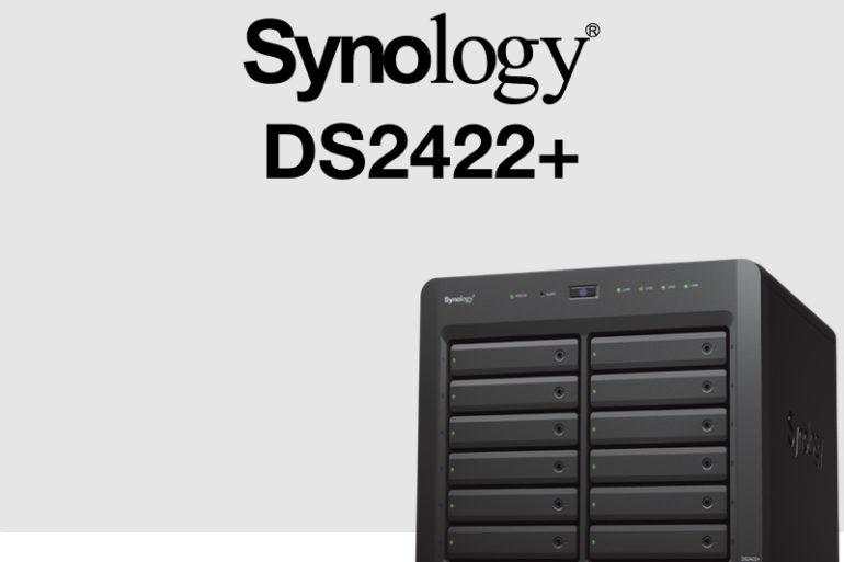 Synology DS2422 770x513 - Synology DS2422+ : AMD Ryzen, 4 Go de RAM, réseau 1 Gb/s, PCIe Gen 3.0...