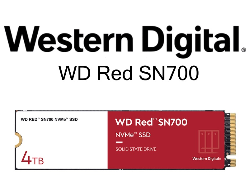 WD Red SN700 - WD Red SN700 : SSD NVMe pour les NAS