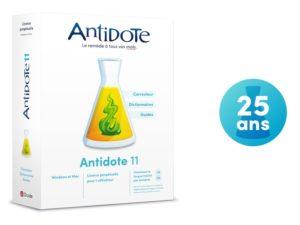 Antidote 11 25 ans