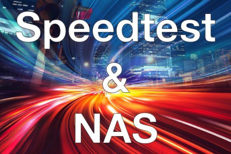 Speedtest et NAS