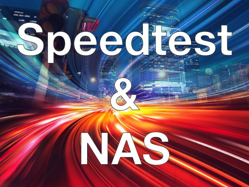 speedtest nas synology - Speedtest et NAS Synology, Asustor...