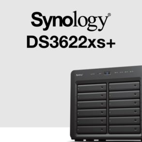 synology ds3622xs 293x293 - Synology DS3622xs+ : Intel Xeon, 16 Go de RAM, 2 ports 10 Gb/s