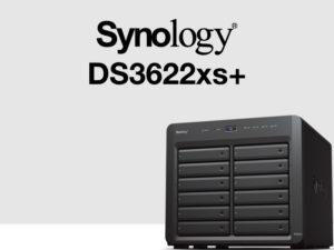 synology ds3622xs 300x225 - Synology DS3622xs+ : Intel Xeon, 16 Go de RAM, 2 ports 10 Gb/s