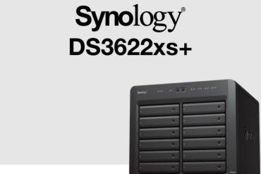 synology ds3622xs 370x247 - Synology DS3622xs+ : Intel Xeon, 16 Go de RAM, 2 ports 10 Gb/s