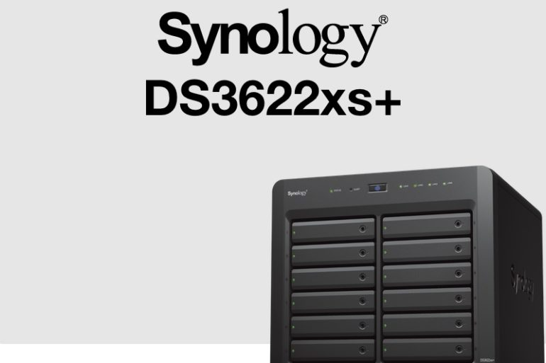 synology ds3622xs 770x513 - Synology DS3622xs+ : Intel Xeon, 16 Go de RAM, 2 ports 10 Gb/s